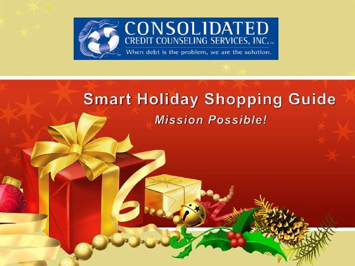 Smart Holiday Shopping GuideMission Possible!<br />