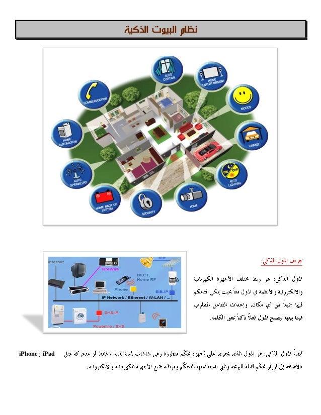 نظامالذكية البيوت iPadiPhone