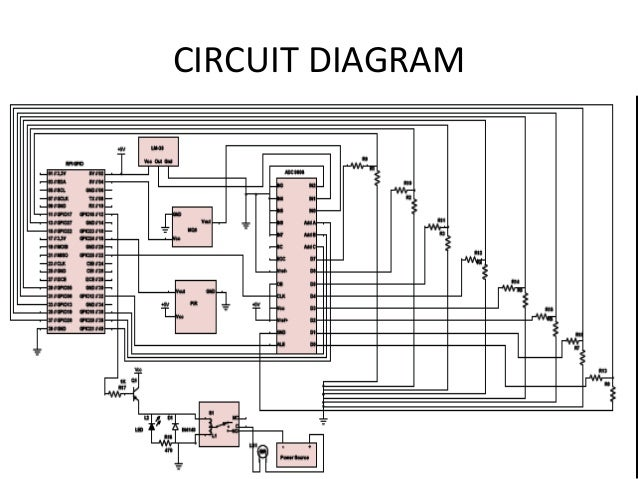 Smart home project circuit