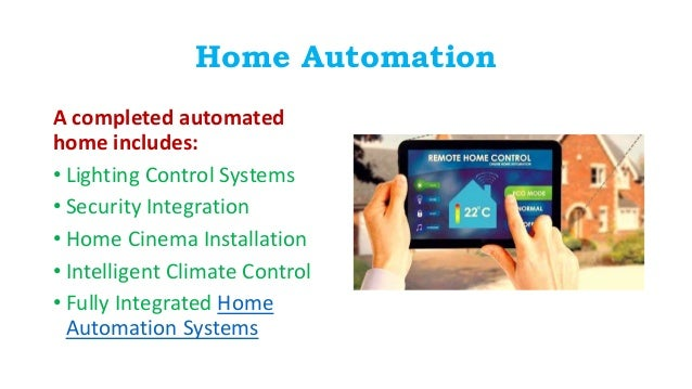 Smart Home And Home Automation Systems