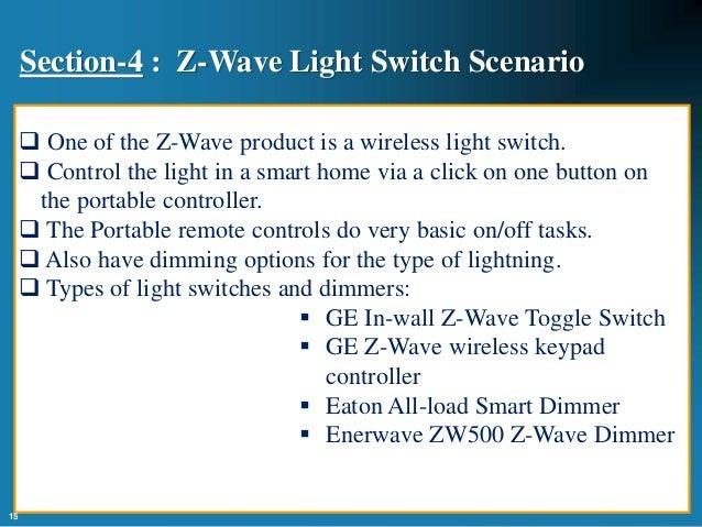 Smart Home Automation Using Z Wave Protocol