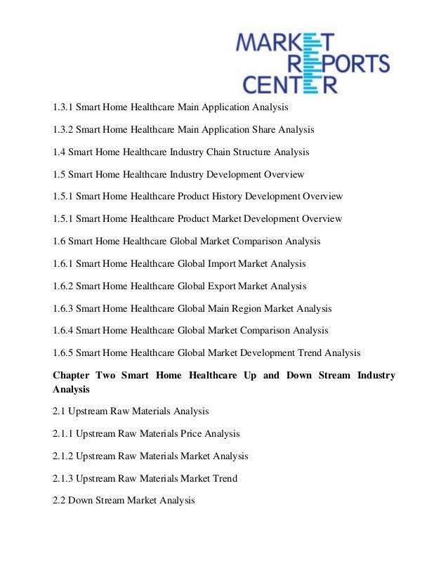 Smart homes market global industry analysis