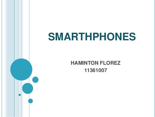 SMARTHPHONES  HAMINTON FLOREZ  11361007