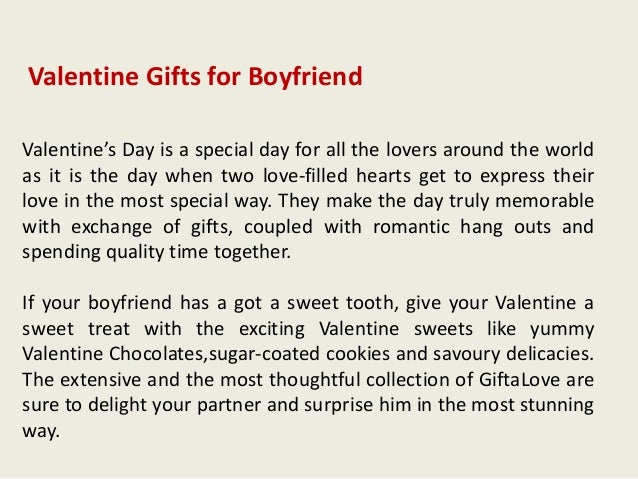 Gifts To Give Boyfriend On Valentines Day Best With Gifts