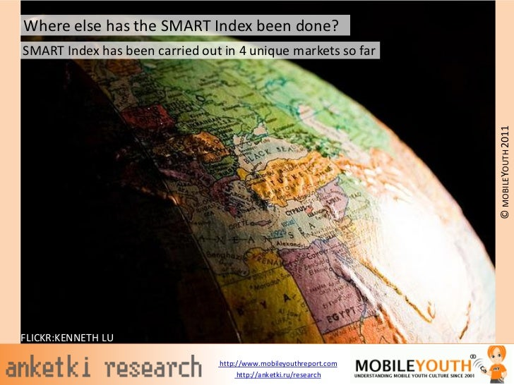 Where else has the SMART Index been done?SMART Index has been carried out in 4 unique markets so far                      ...