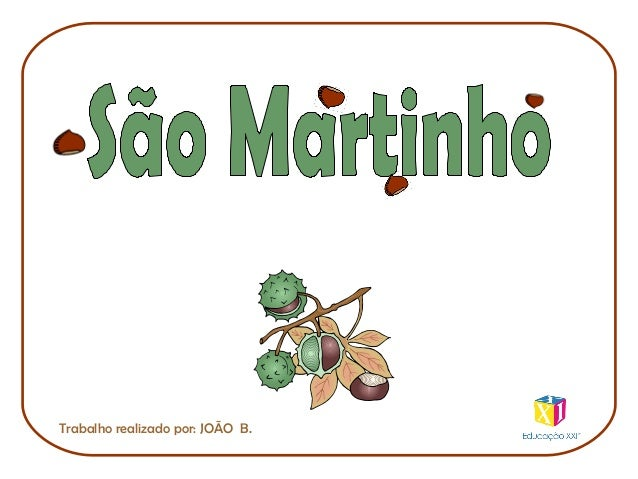 Trabalho realizado por: JOÃO B.