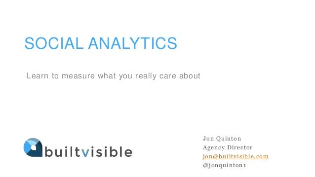 Social Media Analytics - How to gain real insights Slide 2
