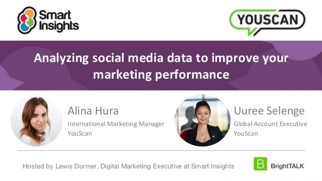 1 #DigitalPriorities Digital Marketing Priorities 2018 brought to you by Analyzing social media data to improve your marke...