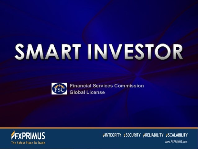 Financial Services Commission  Global License