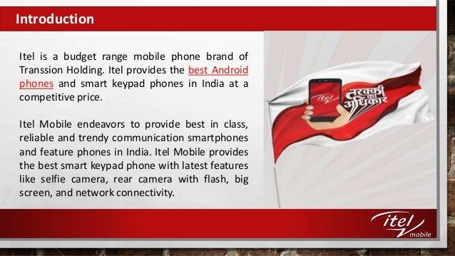 Smart Keypad Mobile Phones by Itel Mobile