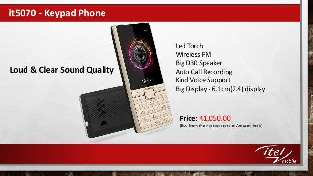 46a5895025e Smart Keypad Mobile Phones by Itel Mobile