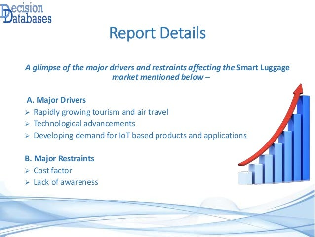 luggage industry analysis Luggage market segmentation, industry reports, market trends, and market outlook are now available from technavio we also offer market forecast and industry overview on various industries.