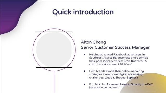 《2018台灣成長駭客年會》Smartly Alton:一年10億美金的跨境Facebook廣告投放心得 Slide 2