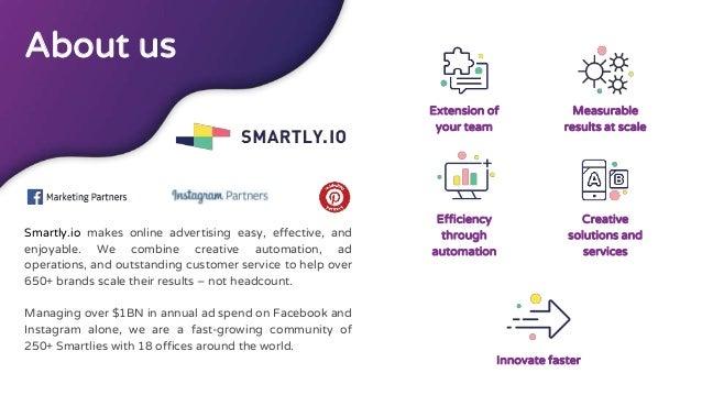 《2018台灣成長駭客年會》Smartly Alton:一年10億美金的跨境Facebook廣告投放心得 Slide 3