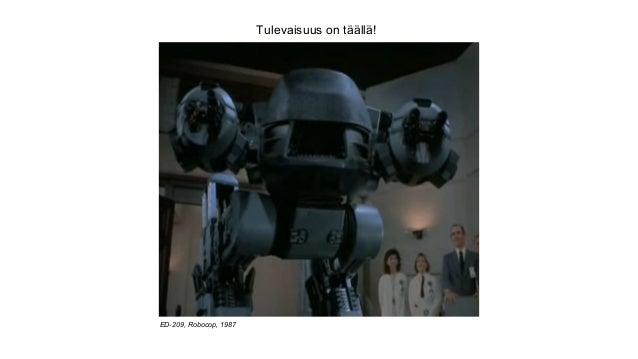 Tulevaisuus on täällä! ED-209, Robocop, 1987
