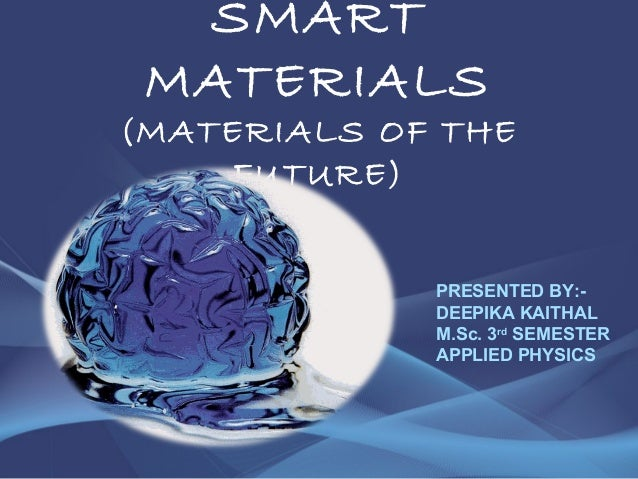 smart materials We are on the cusp of a robotics revolution in which the boundaries between artificial intelligence and biology are blurring.