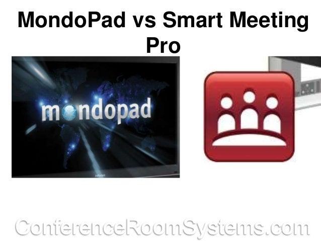 MondoPad vs Smart Meeting Pro