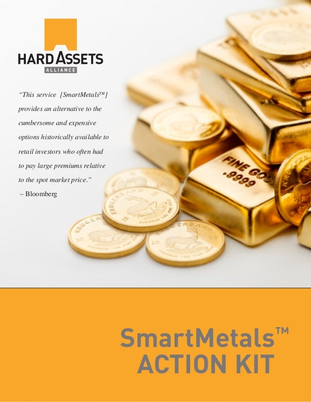 """This service [SmartMetals™ ] provides an alternative to the cumbersome and expensive options historically available to re..."