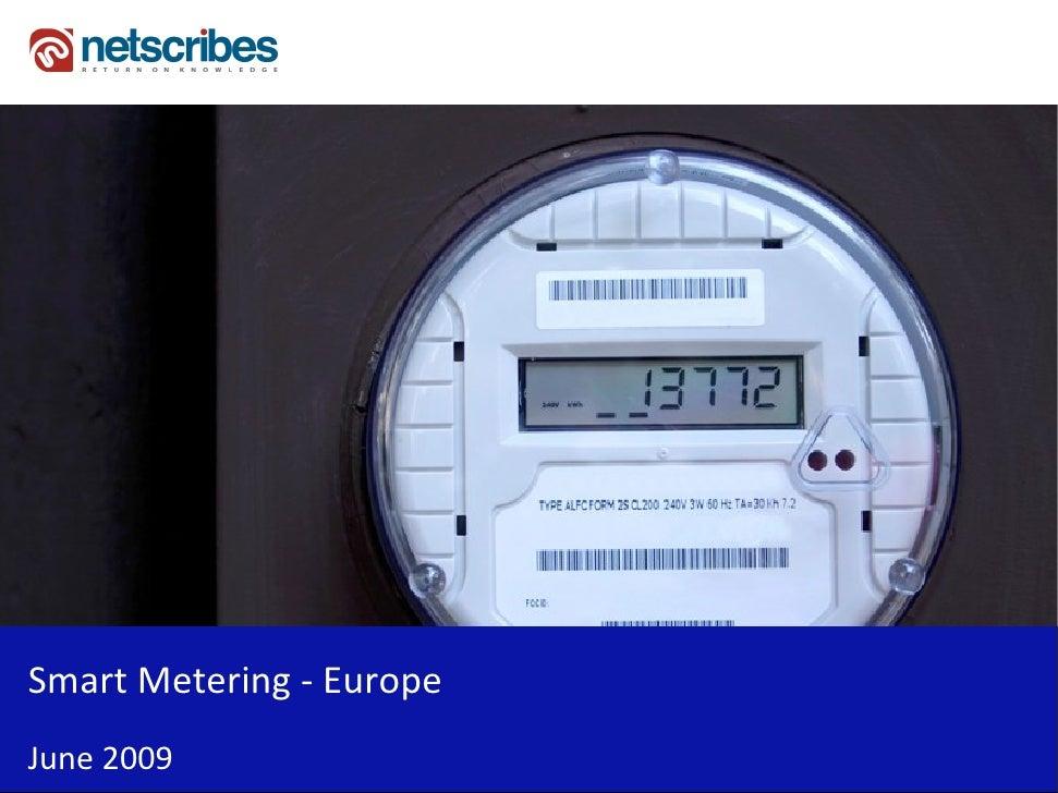Smart Metering - Europe June 2009