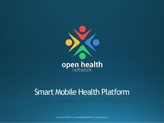 Smart Mobile Health Platform