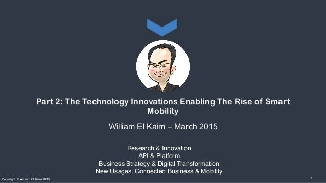 Research & Innovation API & Platform Business Strategy & Digital Transformation New Usages, Connected Business & Mobility ...