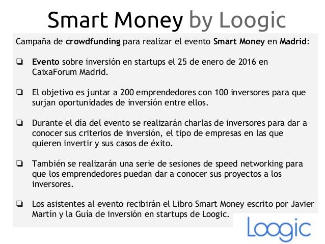 Smart Money Madrid 2016 Slide 2