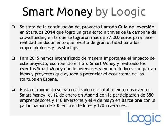 Smart Money Madrid 2016 Slide 3