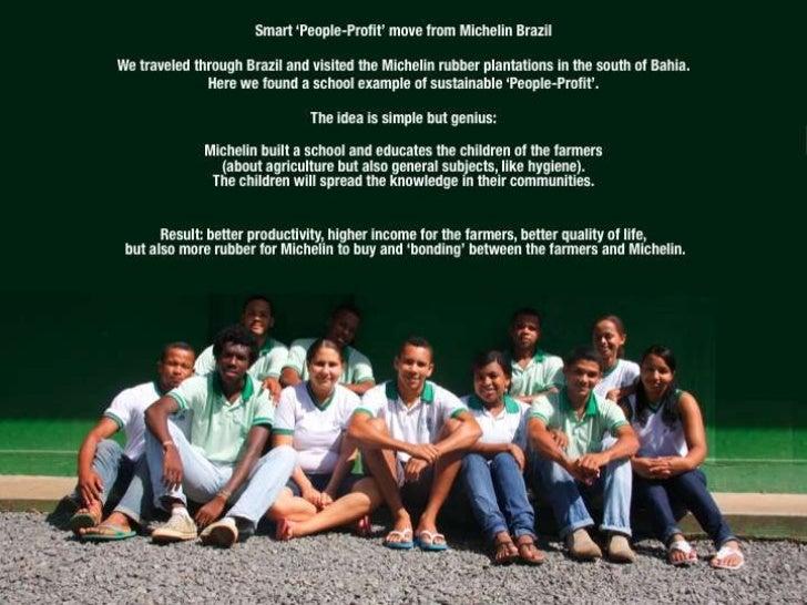 Smart ʻ People-Profit ' move from Michelin Brazil