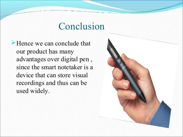 smart note taker
