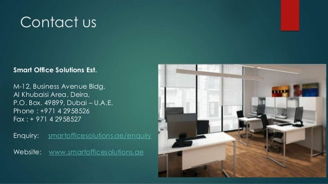 Affordable Office Furniture Dubai