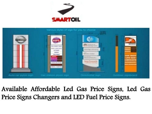 Smartoiltechnology: Find Best Led Gas Price Signs Changers, LED Fuel …