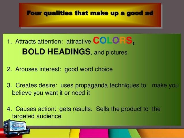 Smart & persuasive advertising techniques