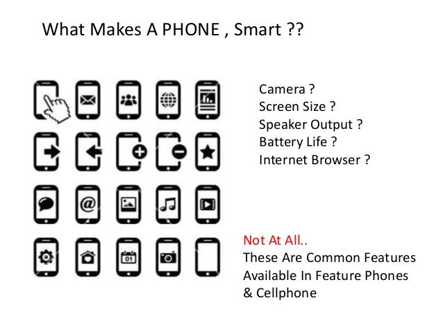 Smartphones - Overview - Introduction - History - Pros