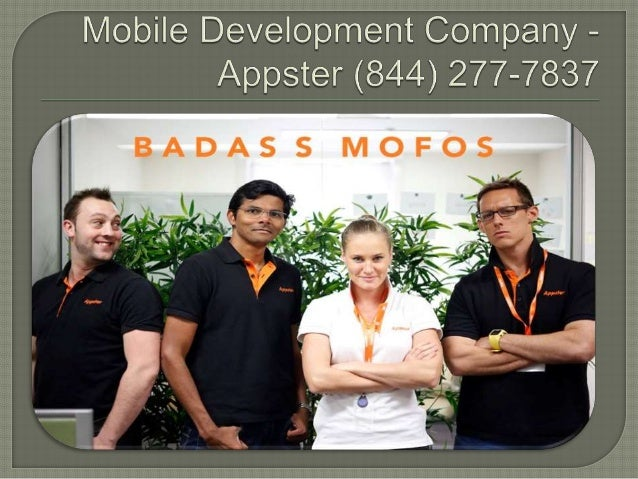 Smartphone app development   appster (844) 277-7837