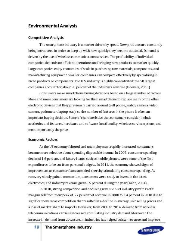 internal and external factors of samsung