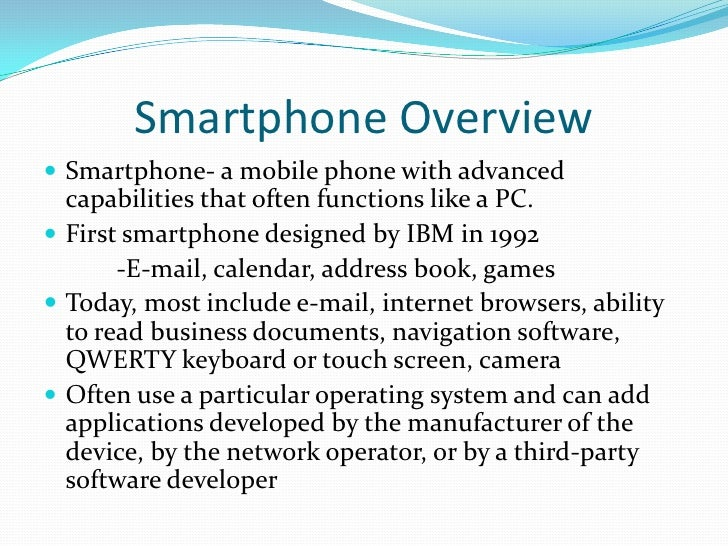 Smartphone Picture Clipart for PowerPoint