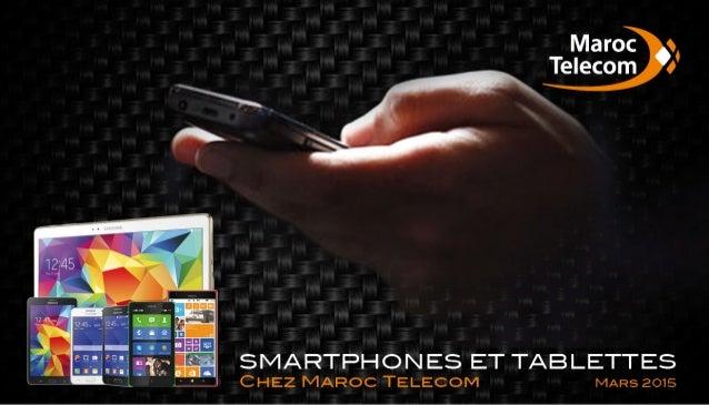 Smartphones tablettes-maroc-telecom-mars-2015