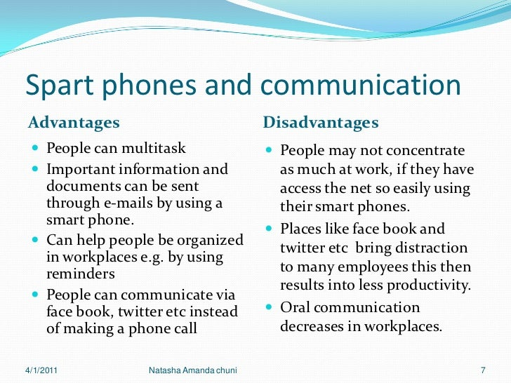 advantages and disadvantages of mobile phones in business