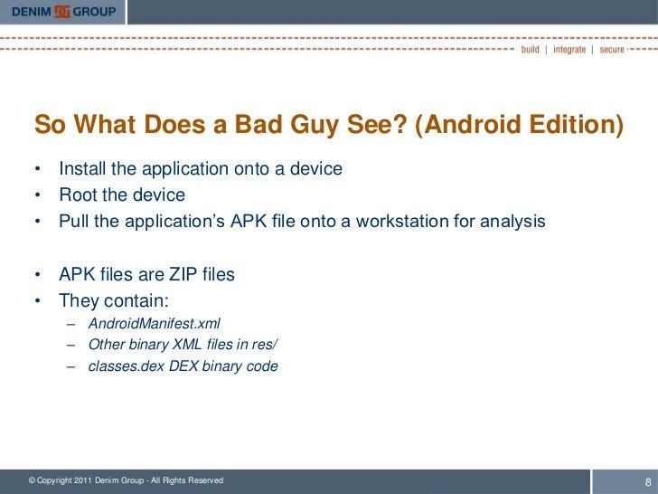 Smart Phones Dumb Apps