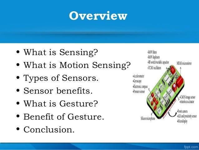 Smartphone sensor and gesture Slide 2