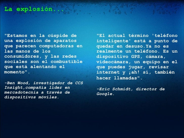 Smartphones y Periodismo Slide 2