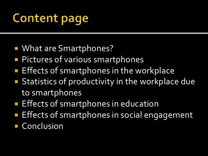 Smartphones presentation Slide 2