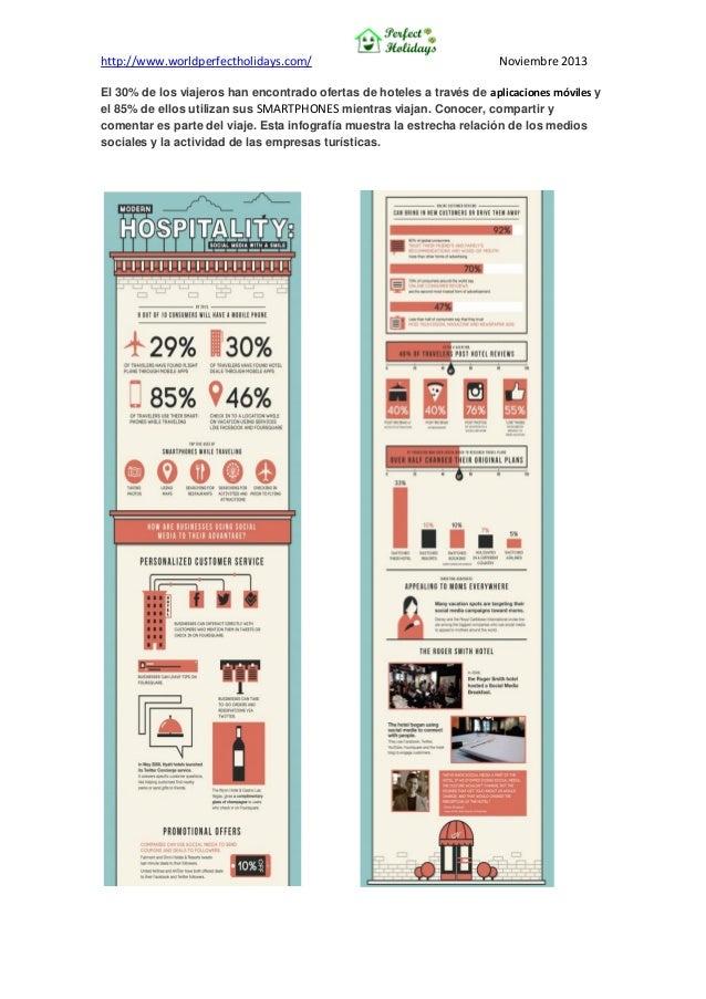 http://www.worldperfectholidays.com/  Noviembre 2013  El 30% de los viajeros han encontrado ofertas de hoteles a través de...