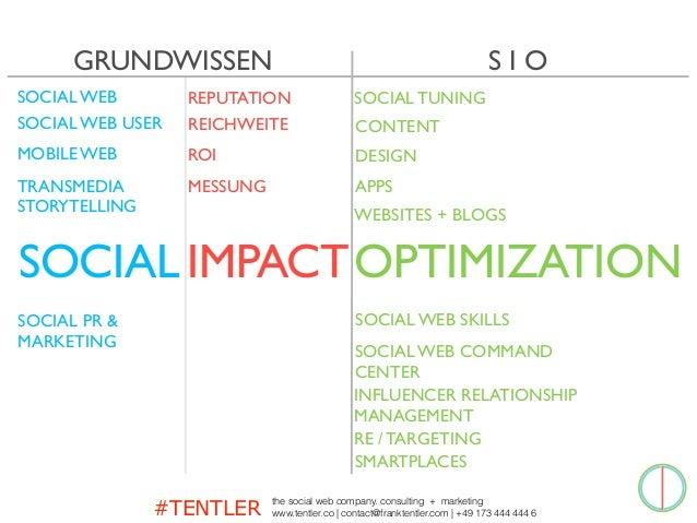 #TENTLER the social web company. consulting + marketing www.tentler.co   contact@franktentler.com   +49 173 444 444 6