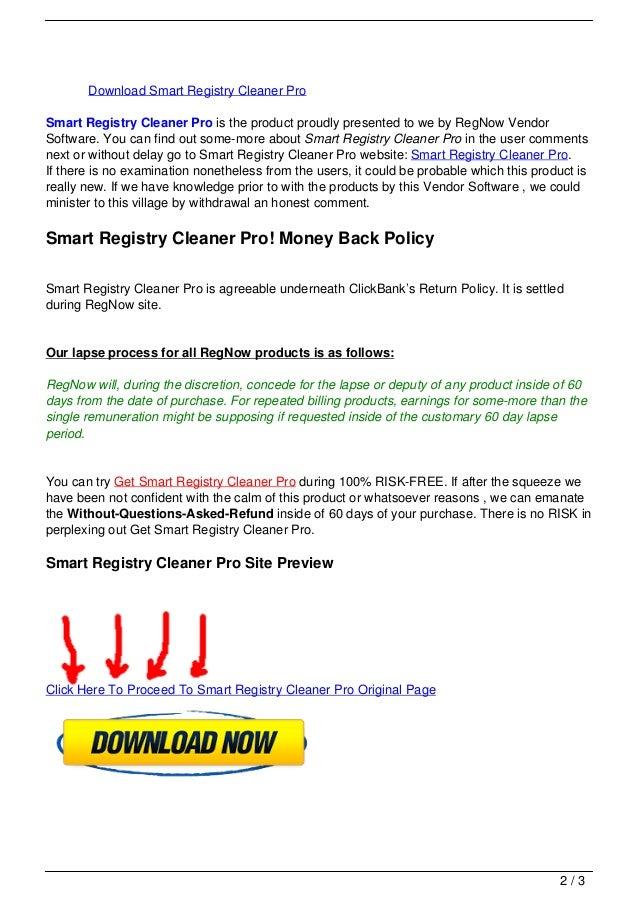 Smart registry cleaner pro Slide 2