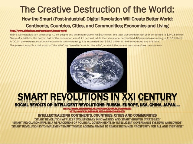 SMART REVOLUTIONS IN XXI CENTURY SOCIAL REVOLTS OR INTELLIGENT REVOLUTIONS: RUSSIA, EUROPE, USA, CHINA, JAPAN,… HTTP://WWW...