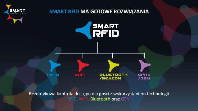 SMART RFID MA GOTOWE ROZWIĄZANIA Bezdotykowa kontrola dostępu dla gości z wykorzystaniem technologii RFID, WiFi, Bluetooth...