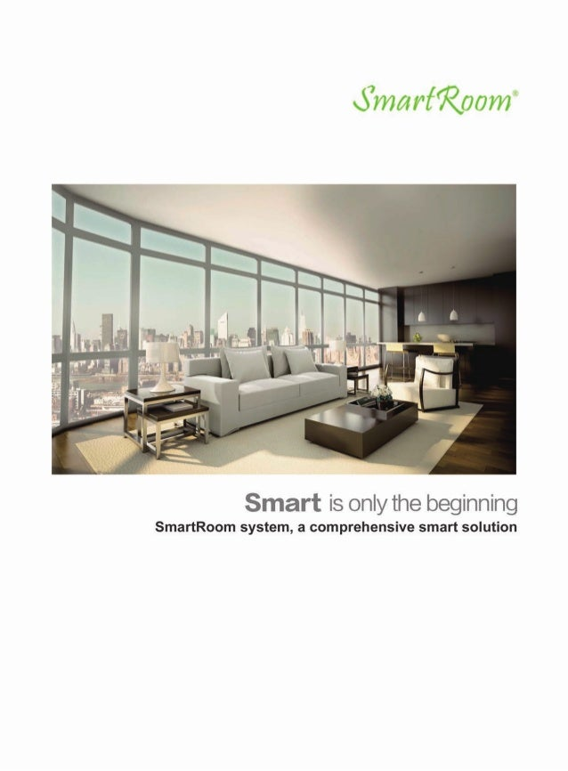 """o°marf7Q00m""""  Smart is only the beginning  SmartRoom system,  a comprehensive smart solution"""