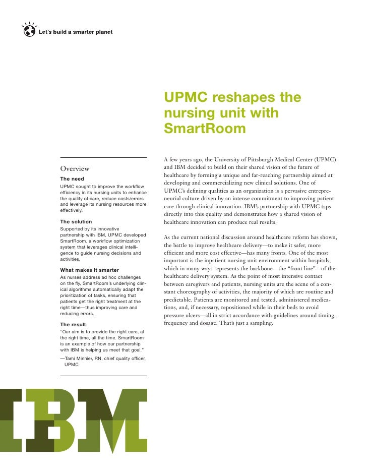 UPMC reshapes the                                              nursing unit with                                          ...