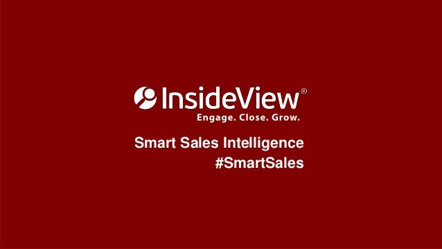 Smart Sales Intelligence  #SmartSales